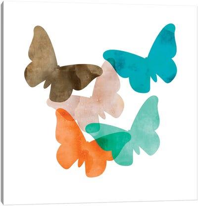 Mod Butterflies Canvas Art Print