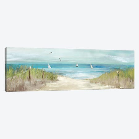 Beachlong Birds Canvas Print #AWI18} by Aimee Wilson Canvas Print