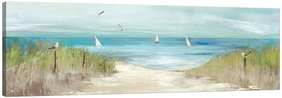 Beachlong Birds Canvas Art Print