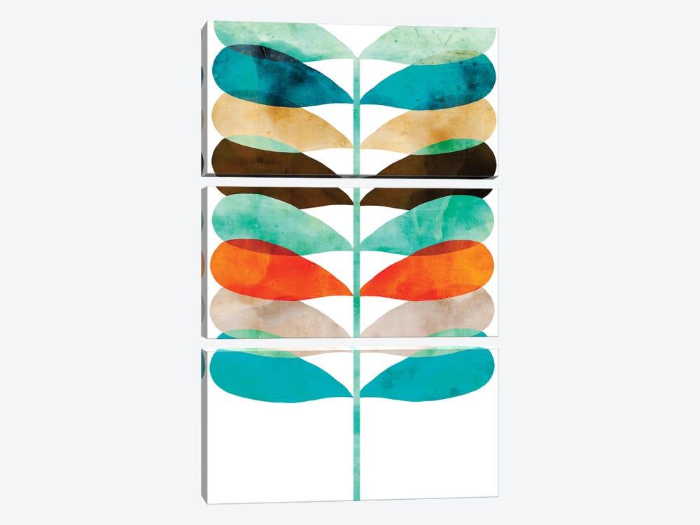 Mod Fern by Aimee Wilson 3-piece Art Print