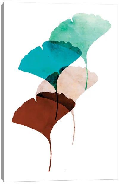 Mod Leaves III Canvas Art Print