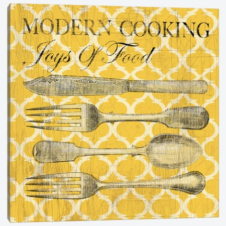 Modern Cooking Canvas Print #AWI196} by Aimee Wilson Canvas Print