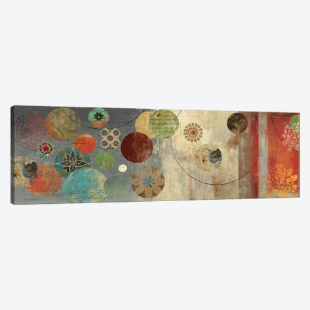 Mosaic Circles I Canvas Print #AWI199} by Aimee Wilson Canvas Wall Art