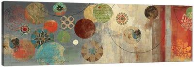 Mosaic Circles I Canvas Art Print