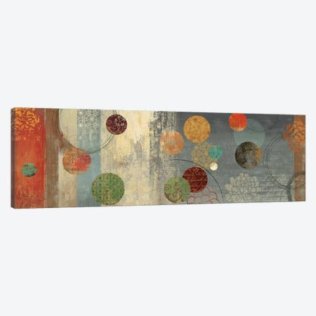 Mosaic Circles II Canvas Print #AWI200} by Aimee Wilson Canvas Wall Art