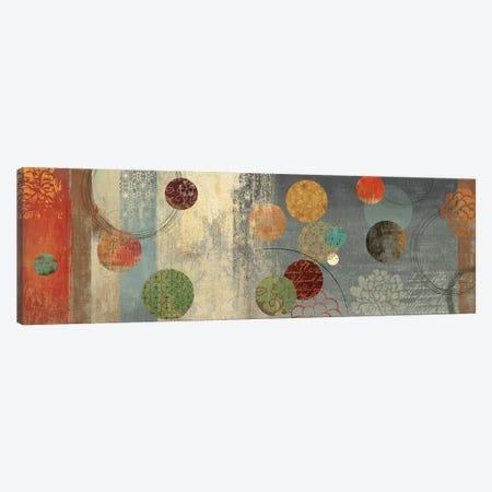 Mosaic Circles II Canvas Print #AWI200} by Aimee Wilson Canvas Wall Art