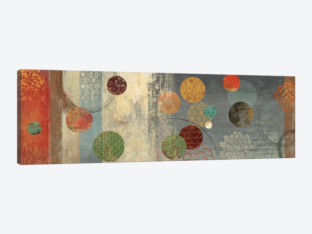 Mosaic Circles II by Aimee Wilson 1-piece Canvas Artwork