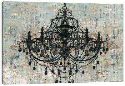 Pallas Black Canvas Art Print