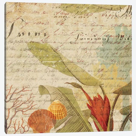 Palms I Canvas Print #AWI225} by Aimee Wilson Art Print