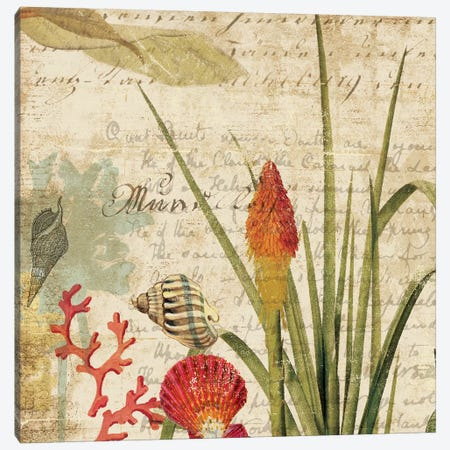Palms II Canvas Print #AWI226} by Aimee Wilson Art Print