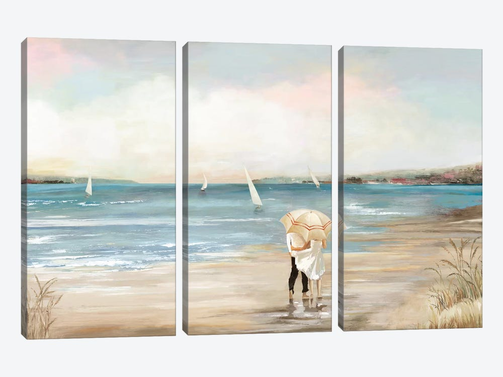 Pearl Shore by Aimee Wilson 3-piece Canvas Print