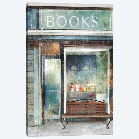 Reader's Oasis Canvas Print #AWI234} by Aimee Wilson Canvas Art