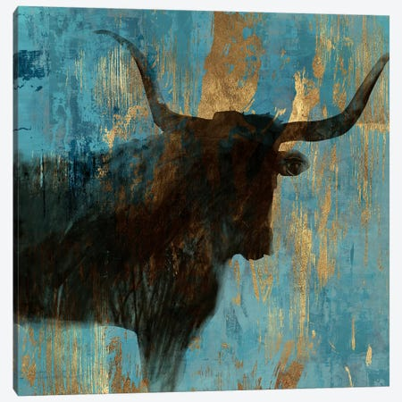 Bison I Canvas Print #AWI23} by Aimee Wilson Canvas Wall Art