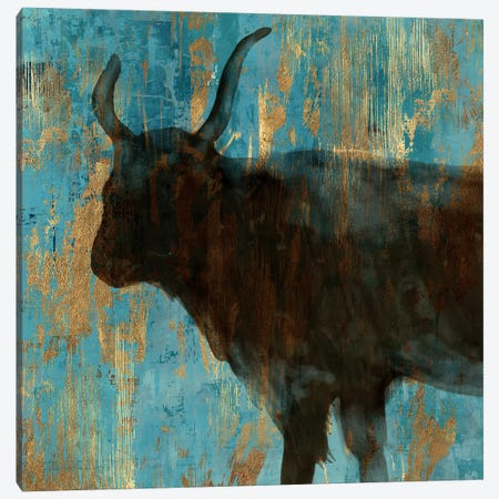 Bison II Canvas Print #AWI24} by Aimee Wilson Canvas Art Print
