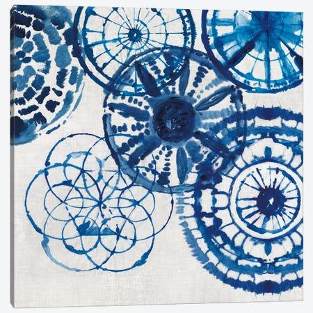 Shibori Rings II Canvas Print #AWI260} by Aimee Wilson Canvas Wall Art