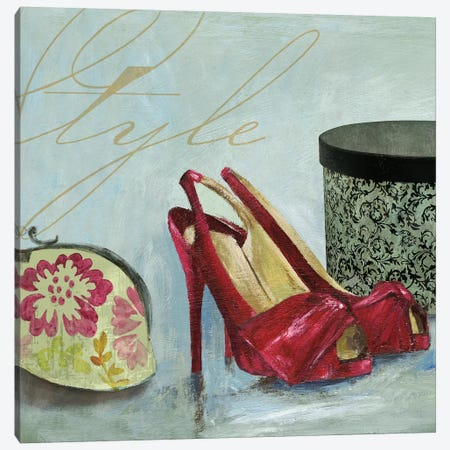 Shoe Style Canvas Print #AWI261} by Aimee Wilson Canvas Artwork