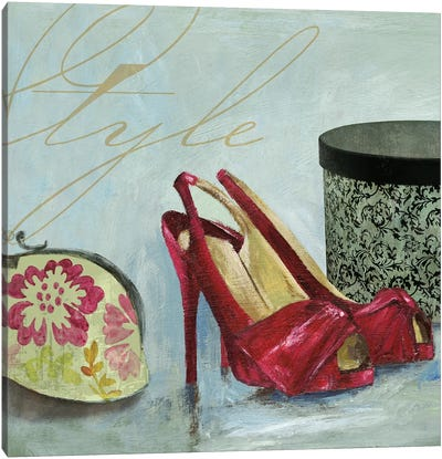Shoe Style Canvas Art Print