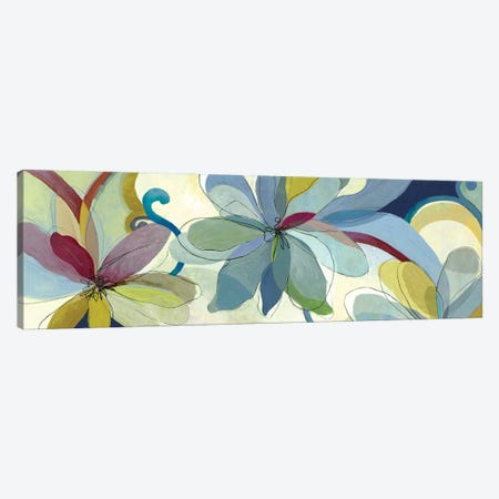 Silk Flowers I Canvas Print #AWI262} by Aimee Wilson Canvas Wall Art