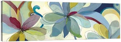 Silk Flowers I Canvas Art Print