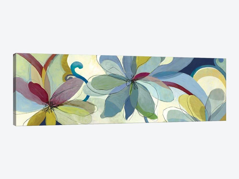 Silk Flowers I by Aimee Wilson 1-piece Canvas Art