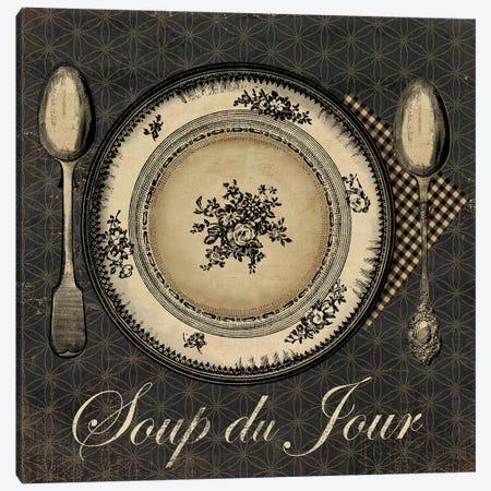 Soup du Jour Canvas Print #AWI267} by Aimee Wilson Art Print
