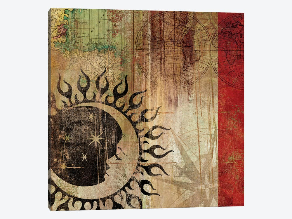 Sun And Moon I Canvas Artwork By Aimee Wilson Icanvas