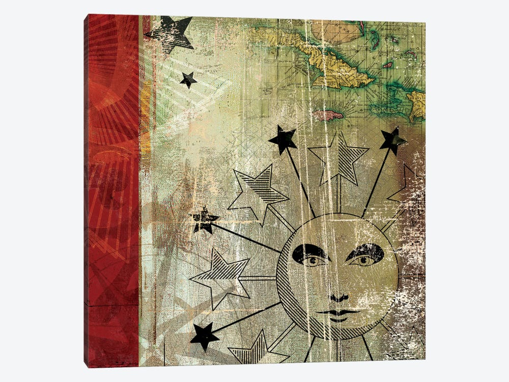 Sun And Moon II by Aimee Wilson 1-piece Canvas Artwork