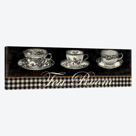 Tea Room Canvas Print #AWI283} by Aimee Wilson Canvas Artwork