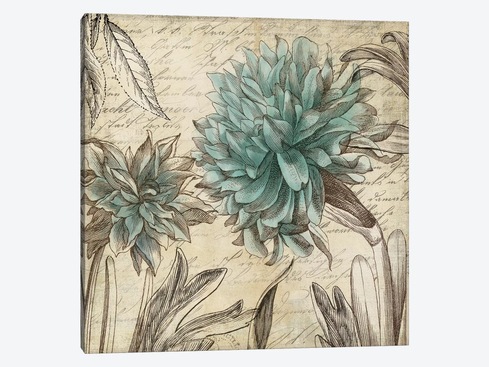 Blue Botanical I by Aimee Wilson 1-piece Canvas Wall Art