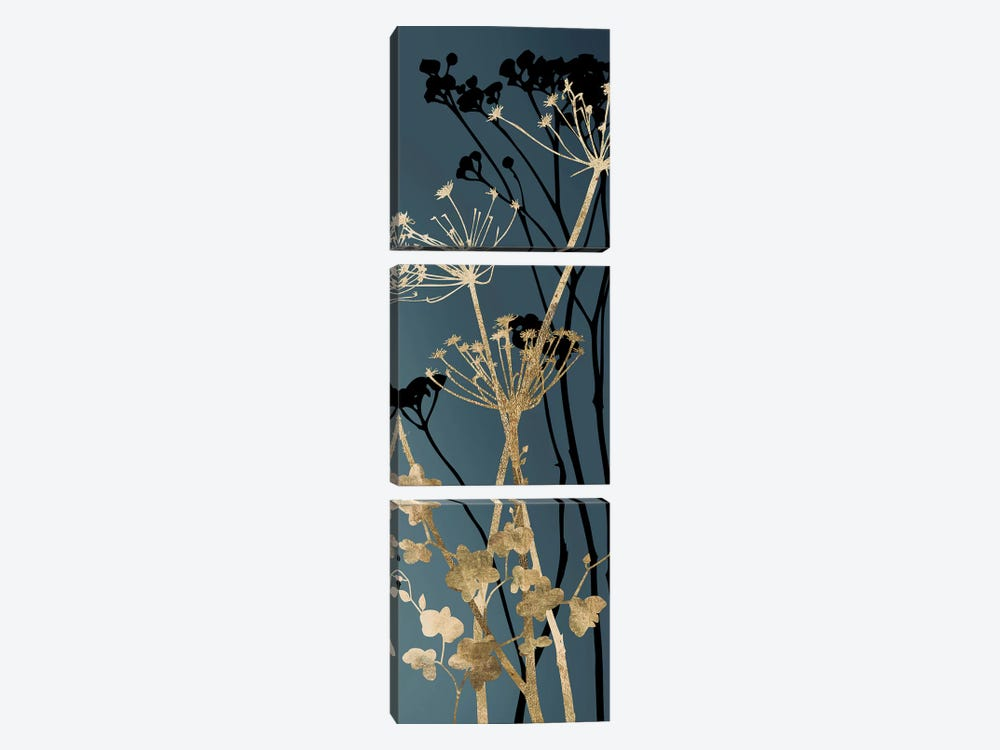 Twilight Botanicals I by Aimee Wilson 3-piece Canvas Art