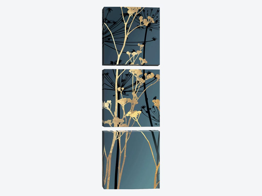 Twilight Botanicals II by Aimee Wilson 3-piece Canvas Art Print