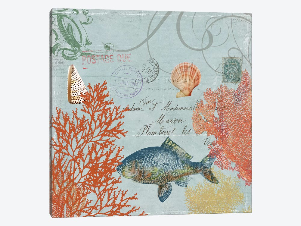 Under The Sea I by Aimee Wilson 1-piece Canvas Artwork