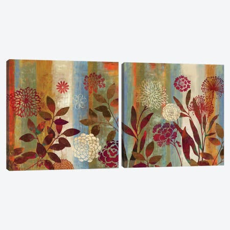 Beginnings Diptych Canvas Print Set #AWI2HSET005} by Aimee Wilson Canvas Artwork