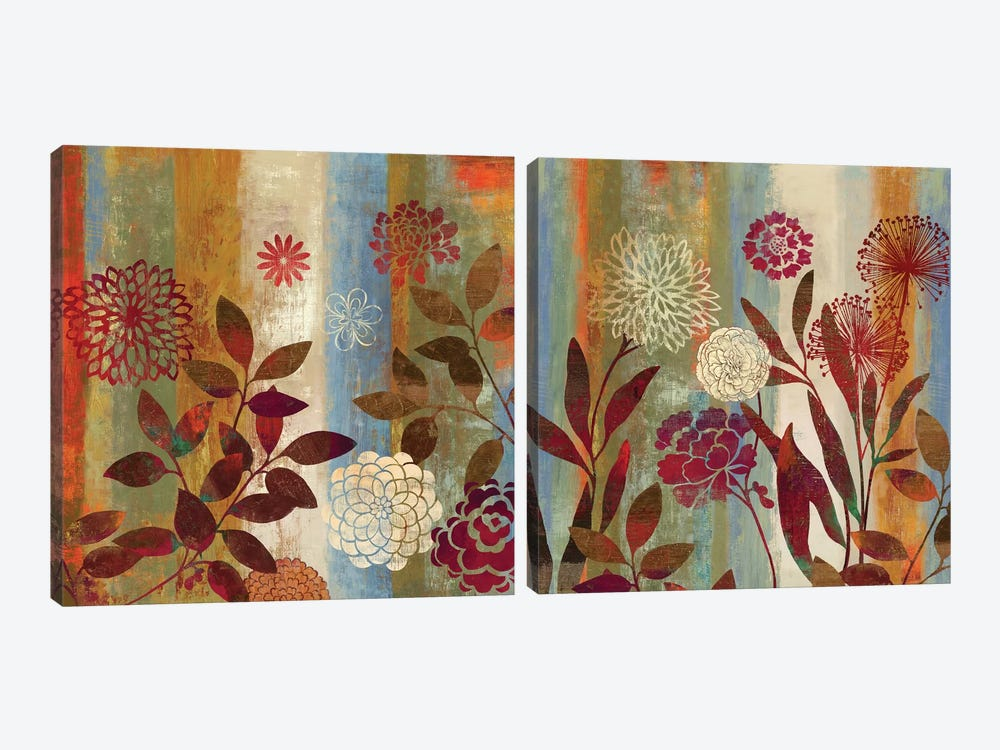 Beginnings Diptych by Aimee Wilson 2-piece Canvas Print