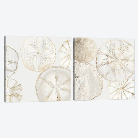 Sea Patterns Diptych Canvas Print Set #AWI2HSET009} by Aimee Wilson Canvas Print
