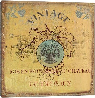 Vino IV Canvas Art Print