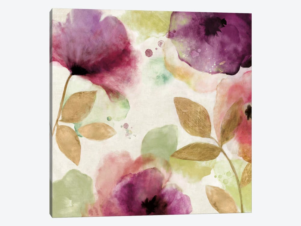 Watercolour Florals II by Aimee Wilson 1-piece Canvas Art
