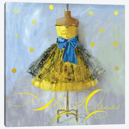 Yellow Dress Canvas Print #AWI316} by Aimee Wilson Canvas Print
