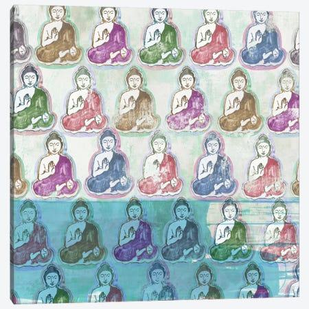 Buddha Print Canvas Print #AWI318} by Aimee Wilson Canvas Art