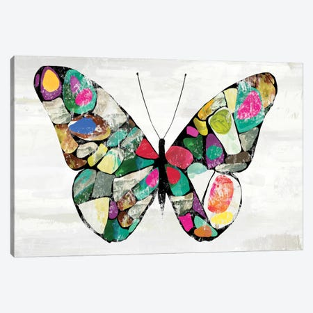 Butterfly Canvas Print #AWI319} by Aimee Wilson Canvas Artwork