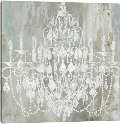 Chandelier Canvas Art Print