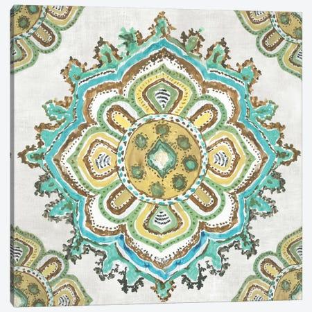 Medallion Inka Canvas Print #AWI323} by Aimee Wilson Canvas Art Print