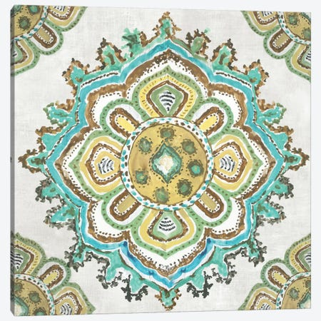 Medallion Inka Canvas Print #AWI323} by Aimee Wilson Canvas Art Print