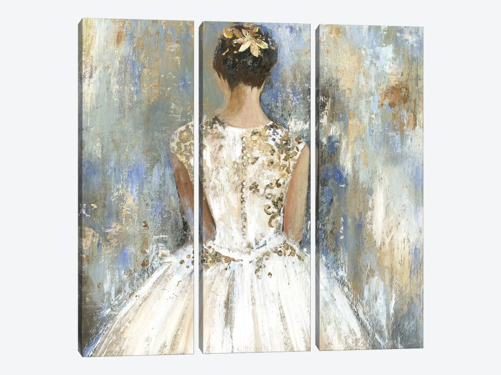 Bridesmaid by Aimee Wilson 3-piece Canvas Art Print