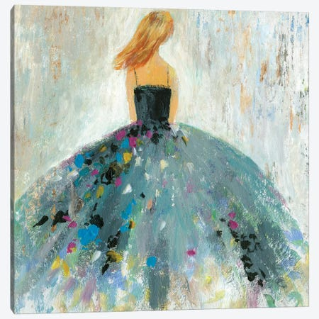 Standing Beautiful Canvas Print #AWI341} by Aimee Wilson Art Print