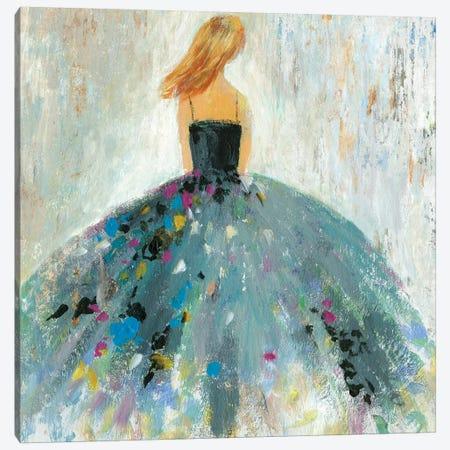 Standing Beautiful Canvas Print #AWI341} by Aimee Wilson Art Print