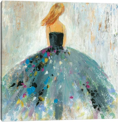 Standing Beautiful Canvas Art Print