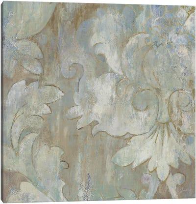 Swirling Shapes Canvas Art Print