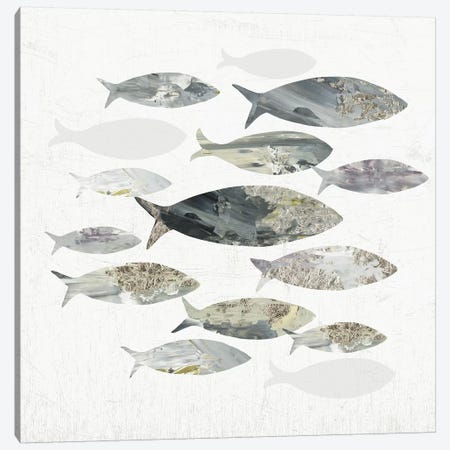 Gone Fishing I  Canvas Print #AWI346} by Aimee Wilson Canvas Artwork