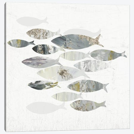 Gone Fishing II  3-Piece Canvas #AWI347} by Aimee Wilson Canvas Art